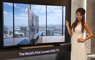 Samsung's Latest Curved UHD and Flat UHD TVs to Hit Stores in May