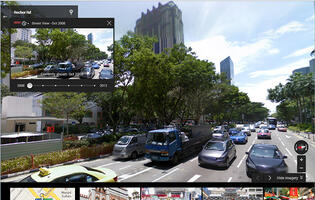 Go Back in Time with Google Maps