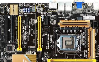 Biostar Sneaks Out Intel Z97 Motherboard Photo