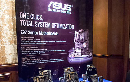 ASUS Reveals Entire Line-Up of New Intel Z97 Motherboards