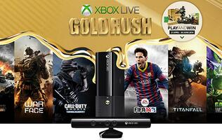 Microsoft Introduces Xbox Live Gold Rush to Reward Xbox Live Gold Members