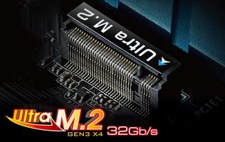 ASRock Redesigns M.2 Interface to Unveil Ultra M.2 Gen3 x4 Socket
