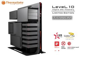 Thermaltake Announces Level 10 Gaming Station Titanium Limited Edition Chassis