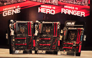 ASUS' Latest Z97 Series Motherboards Revealed