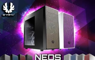 A Riot of Colors: BitFenix Launches New Mid-Tower Neos Chassis Series