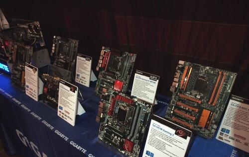 Gigabyte Launches 34 Intel 9 Series Motherboards, Sets New Overclocking Record