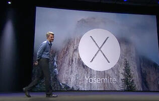 Apple Unveils OS X 10.10 Yosemite with Refreshed UI; Available for Free This Fall