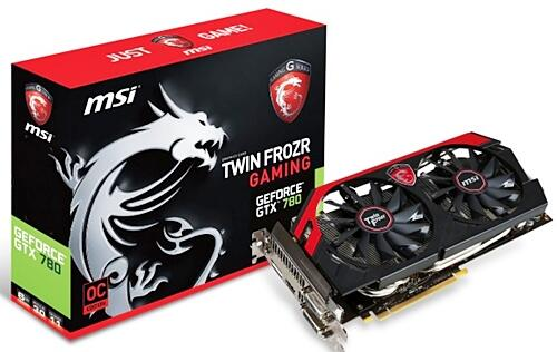 MSI Releases GeForce GTX 780 Graphics Card with 6GB of RAM