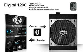 Cooler Master Releases PSU that Talks to your Smartphone via Bluetooth