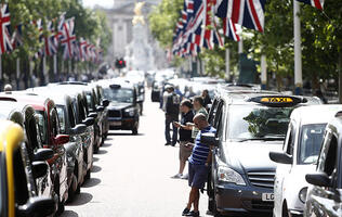 Thousands of Taxi Drivers Protest Against Uber in Europe