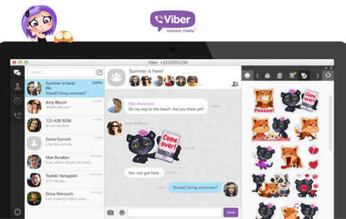 Viber Surpasses 100 Million Concurrent Online Users, Rolls Out Updated Desktop App