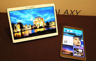 Samsung Launches 8.4- and 10.5-inch Galaxy Tab S Tablets with Super AMOLED Displays