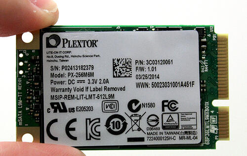 Plextor M6M (256GB) - Honey, I Shrunk the M6S