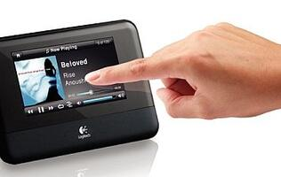 Logitech Unveils Squeezebox Touch Wi-Fi Music Players