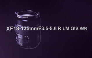 Sneak Preview: The Fujinon XF18-135 f/3.5-5.6 R LM OIS Weather-resistant Lens