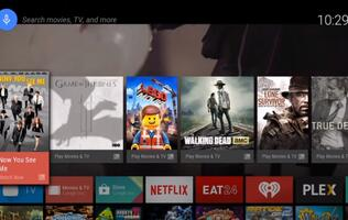 Google Unveils Android TV
