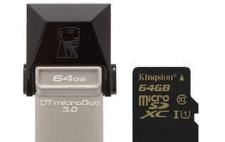 Kingston Releases New High-speed USB OTG Flash Drive and MicroSDHC/SDXC Card