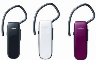 Jabra's new Classic and Mini Bluetooth headsets offer 9 hours of talk time