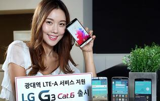 LG unveils G3 LTE-A with Snapdragon 805 and LTE CAT 6 support for South Korea