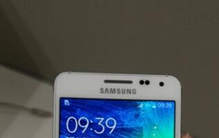 New photos of Samsung Galaxy Alpha leaked, shows off iPhone-like design