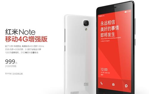 Xiaomi Redmi Note 4G with Snapdragon 400 announced, 10g lighter and no dual-SIM slot