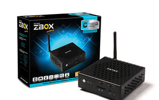 Zotac ZBOX CI320 nano mini-PC available later this month for just S$360