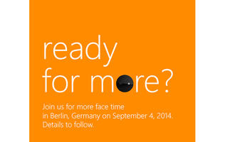 Microsoft teases camera-focused smartphone at IFA 2014?