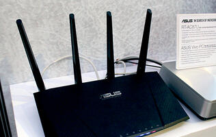 The ASUS RT-AC87U AC-2400 class router will go on sale next week at Comex 2014