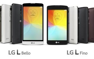LG to unveil entry-level smartphones L Bello and L Fino at IFA 2014