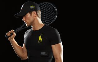 Ralph Lauren debuts fitness and health-tracking t-shirts at the U.S. Open