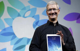 "Tim Cook calls recent iPad sales slump a ""speed bump"""