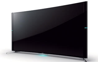 The Bravia S90 is Sony's first curved 4K TV