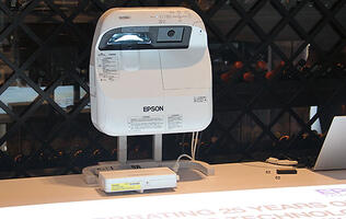 Epson aims to maintain its projector market share leadership with brighter and enhanced interactive models