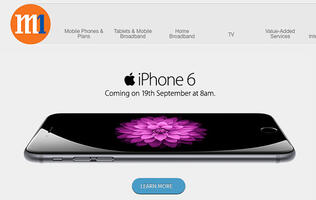 M1 to offer iPhone 6 at 8am on Sep 19