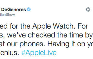 Celebrity reactions to the iPhone 6 and Apple Watch