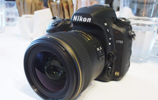 First looks: Nikon D750 full-frame DSLR & Coolpix S6900 selfie camera