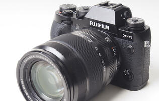 You can't go wrong with the weather-resistant Fujifilm X-T1 mirrorless camera