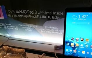 ASUS Memo Pad 8 (ME581CL) and Fonepad 8, 64-bit quad-core tablets available from 10 October