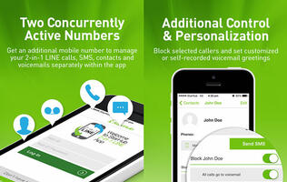 StarHub's 2-in-1 Line service enables two active numbers on one SIM card at the same time