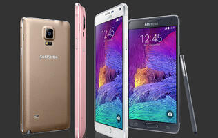 Telcos unveil price plans for the Samsung Galaxy Note 4
