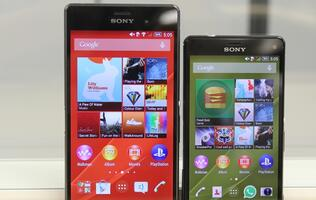 Sony Xperia Z3 and Z3 Compact: Good performance in two different packages