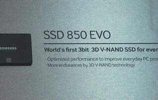 Samsung begins mass production of world's first 3-bit 3D V-NAND flash memory