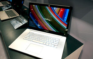 Hands-on with the ASUS Zenbook NX500, a super-slim 4K 15-inch Ultrabook