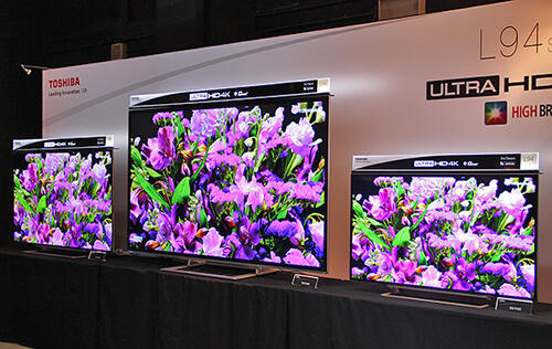 Toshiba's L9450 is a 4K TV that runs Android 4 4