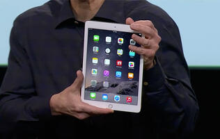 Apple announces iPad Air 2 & iPad Mini 3; online order starts today