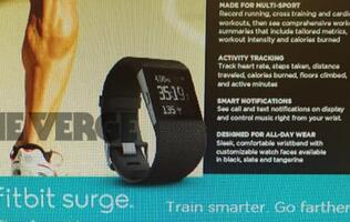 Fitbit's Surge aims to be the smart watch for hardcore fitness aficionados