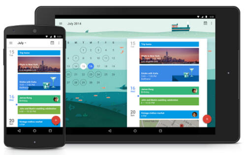 Google Calendar gets facelift