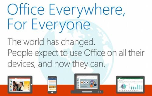 Microsoft brings full Office functions for iPhone, iPad and Android tablets at no cost!