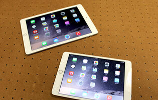 A feature on Apple iPad Mini 3