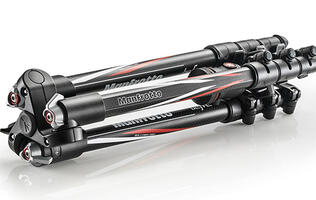 Manfrotto unveils new BeFree Carbon tripod, specifically tailored to travellers.